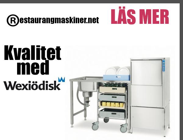 Restaurangmaskiner.net saluför nu restaurangdiskmaskiner